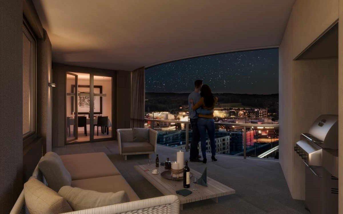Waldhaus neuguet modern wohnen im zwicky areal moneypark ag for Modernes waldhaus