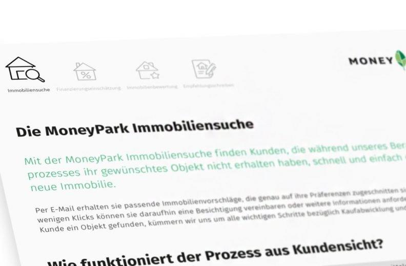 MoneyPark Immobiliensuche
