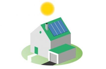 Nachhaltigkeit beim Wohnen