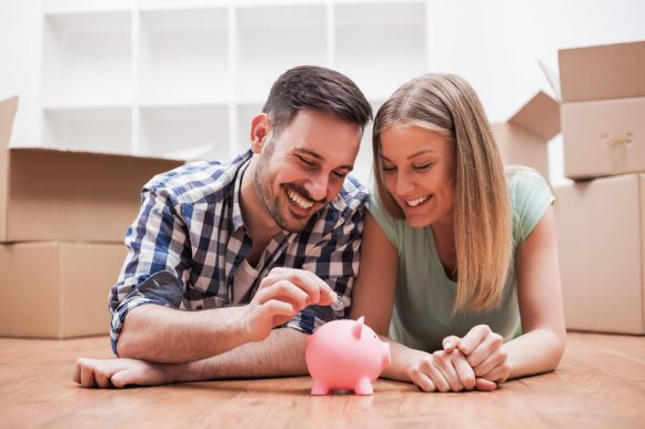 Sparen auf dem Weg ins Eigenheim